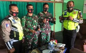 Polres Seruyan Sambangi Koramil Kuala Pembuang Tingkatkan Sinergitas