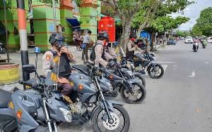 Tim Rajawali Satsabhara Polres Kobar Insentifkan Patroli untuk Jaga Kondusivitas Kamtibmas