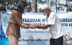 Melalui Pemkab Kobar Keluarga Besar H Abdul Rasyid AS Salurkan Sapi Kurban Pada Masyarakat