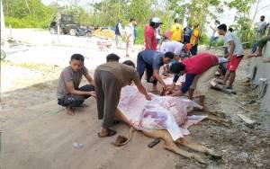 Covid-19 Tak Pengaruhi Animo Umat Muslim di Sampit untuk Salat Idul Adha dan Kurban