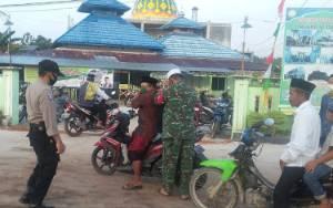 Anggota TNI dan Polri Ikut Amankan Pelaksanaan Salat Idul Adha di Katingan