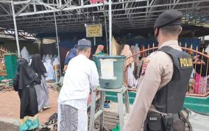 Polsek Benua Lima Lakukan Pengamanan Salat Idul Adha pada 4 Masjid