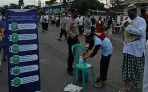 Personel Polres Kapuas Lakukan Pengamanan Salat Idul Adha