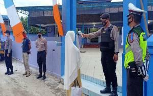Polres Gunung Mas Lakukan Pengamanan di 4 Masjid Demi Kelancaran Salat Idul Adha
