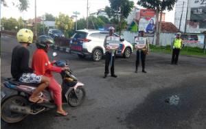 Tidak Gunakan Sabuk Pengaman, Sopir di Kuala Pembuang Ditilang