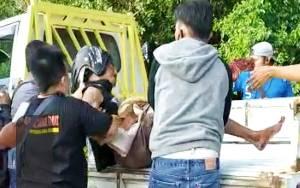 Tabrak Lari di Jalan RTA Milono Palangka Raya, Pengendara Masuk Rumah Sakit