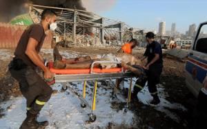 Trump Sebut Ledakan di Beirut seperti Serangan Bom