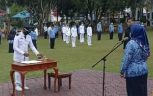 Bupati Kobar Lantik 166 Pejabat Administrator dan Pengawas