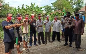 Patroli Maja Polsek Kahayan Hilir Ingatkan Masyarakat Jaga Kamtibmas
