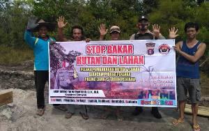 Polres Seruyan Giatkan Sosialisasi Pencegahan Karhutla