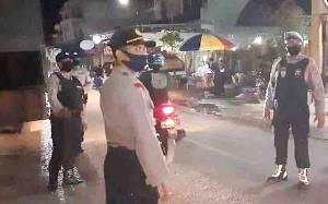 Kapolsek Dusun Tengah Pimpin Patroli Malam Cegah Tindak Pidana