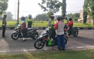 Operasi Patuh Telabang 2020, Satlantas Polres Sukamara Tilang 48 Pengendara