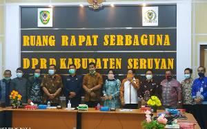 DPRD Kota Banjarbaru Kunjungi Seruyan Bahas Pendidikan di Masa Covid-19