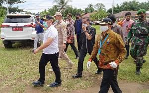 Gubernur Kalteng bersama KPK Sambangi Barito Timur