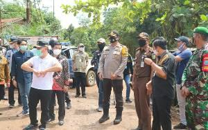 Kapolres Bartim Harapkan Pengembangan Jalan Pertamina Sejahterakan Masyarakat