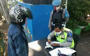 Satlantas Polres Kapuas Jaring 479 Pelanggar Lalu Lintas