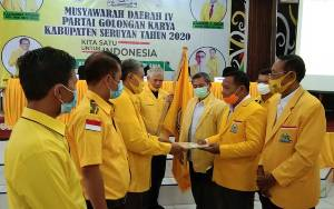 H Anang Maskur Pimpin DPD Partai Golkar Seruyan