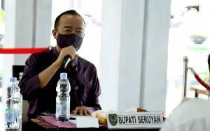 Bupati Seruyan Izinkan Pembelajaran Tatap Muka di Zona Hijau