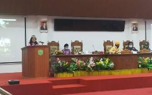 Wakil Bupati Pulang Pisau Sampaikan Pidato Pengantar KUA-PPAS Perubahan 2020