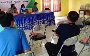 Hadiri Sosialisasi Survei Seismik 2D Tanjung Barat, ini Harapan Kapolsek Benua Lima
