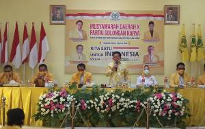 HM Ruslan AS Tegaskan Kebijakan Partai Golkar Usung Sugianto Sabran Sebagai Calon Gubernur Kalimantan Tengah