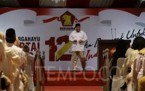Prabowo Bakal Isi Pengurus Pusat Gerindra dengan Anak Muda