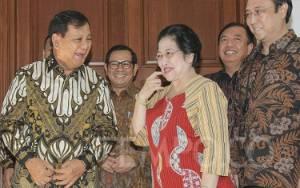 Jokowi dan Megawati Hadiri Kongres Gerindra, Prabowo: Koalisi Solid