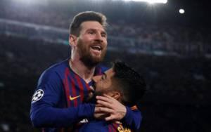 Barcelona vs Napoli 3-1: Simak 10 Fakta yang Menyertai Lolosnya Messi cs