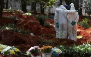 Korban Meninggal karena Virus Corona di Brasil Tembus 100 Ribu Orang