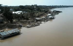 Pemilik Keramba Khawatir dengan Mulai Surutnya Sungai Katingan