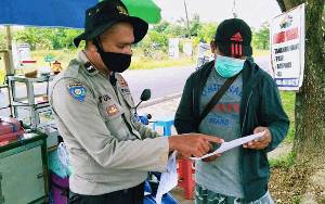 Polisi Terus Ingatkan Masyarakat Tentang Larangan Karhutla
