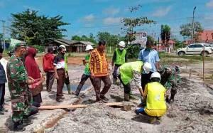 Pembangunan Pasar Induk Pertanian Kecamatan Seruyan Raya Ditargetkan Rampung Tahun ini