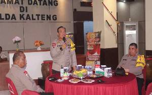Kapolda Kalteng Tingkatkan Silaturahmi Sesama Anggota