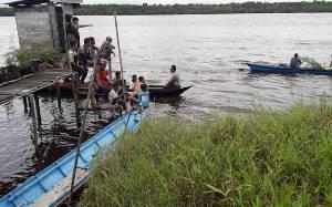 Warga Mendawai Katingan Hilang di Sungai Katingan