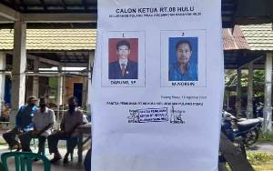 Cara Warga RT 08 Pulang Pisau Gelar Pemilihan Ketua RT