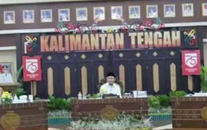 Gubernur Kalteng Rakor Bersama Damang Kepala Adat dan DAD se-Kalimantan Tengah