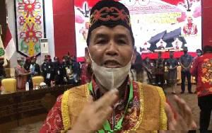 Ketua DAD Kalteng Minta Masyarakat Dayak Satukan Tekad Membangun Kalimantan Tengah