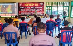 Polda Kalteng Sosialisasi Bina Karuna Telabang 2020 di Kelurahan Menteng