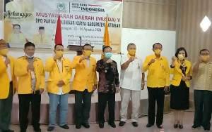 Bupati Katingan Hadiri Musda V DPD Partai Golkar Katingan