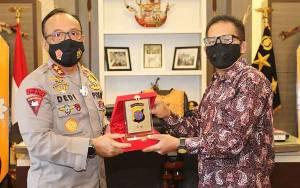 Kapolda Kalteng Terima Kunjungan Ketua IJTI Pusat