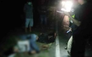 Sepeda Motor Adu Kuat di Jalan Mahir Mahar Palangka Raya, 4 Orang Luka Serius