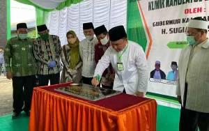 Gubernur Kalteng Resmikan Klinik Nahdlatul Ulama