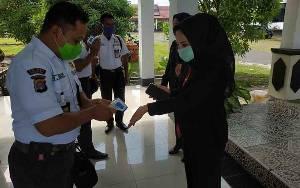 DPRD Seruyan Gelar Paripurna Tatap Muka dengan Penerapan Protokol Kesehatan