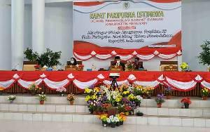 DPRD Seruyan Gelar Rapat Paripurna Mendengarkan Pidato Kenegaraan Presiden