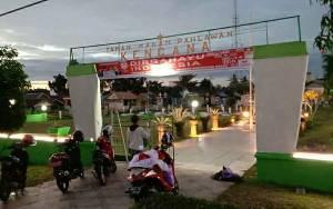 Sambut HUT Kemerdekaan, Taman Makam Pahlawan Kencana Kapuas Diperindah