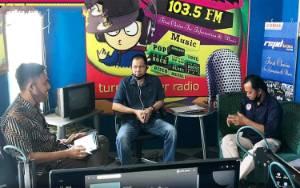 LPPL Batara FM Terima Kunjungan KPID Kalteng