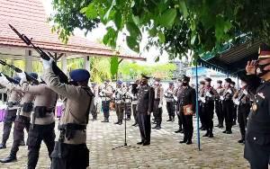 Pemakaman AKBP Ign Putu Miasa Dilakukan Secara Militer