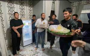 Kesiagaan PJU Polres Kotim dan Kapolsek Demi Suksesnya Kejutan untuk Kapolres AKBP Abdoel Harris Jakin