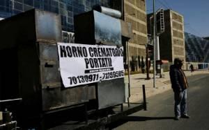 Virus Corona, Bolivia Buat Mobil Khusus Kremasi