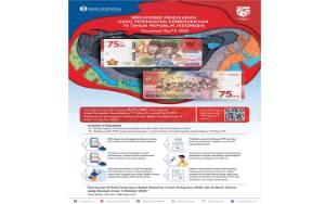Edisi Terbatas, Ini Cara Dapatkan Uang Pecahan Rp. 75.000